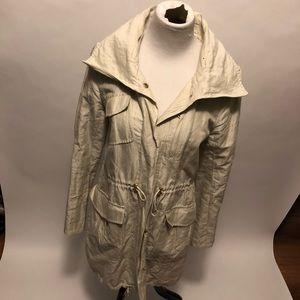 Ann Taylor parka coat size small